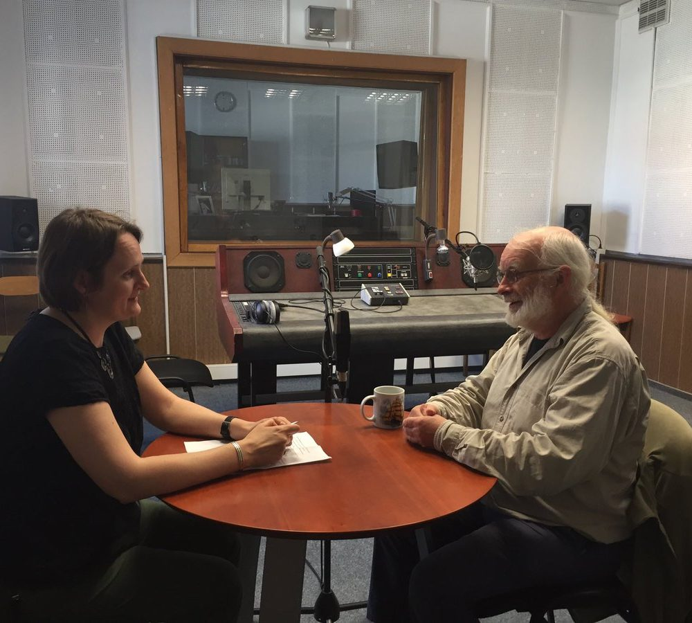 Radio Interview in Vilnius, Lithuania