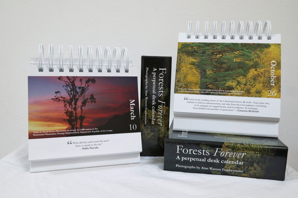 Forests Forever perpetual calendar