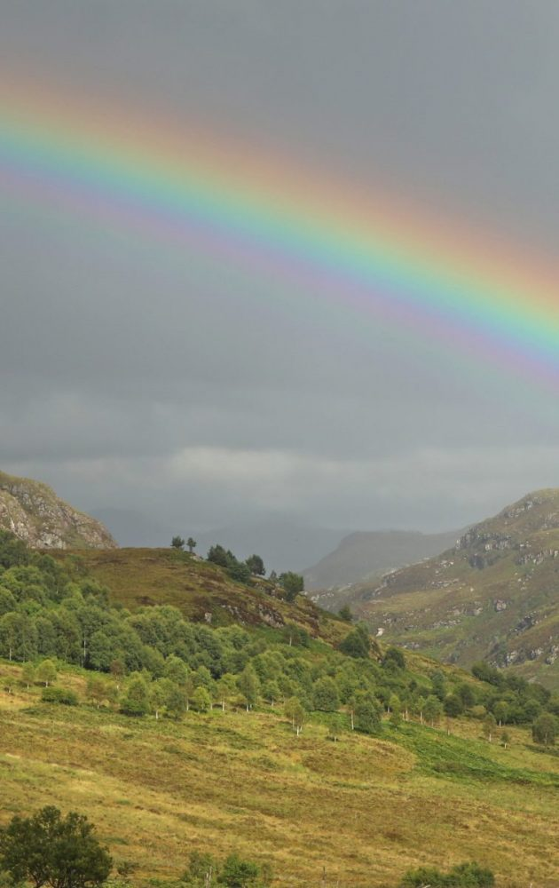 Rainbow, Wester Ross, Scotland, Scottish Highlands