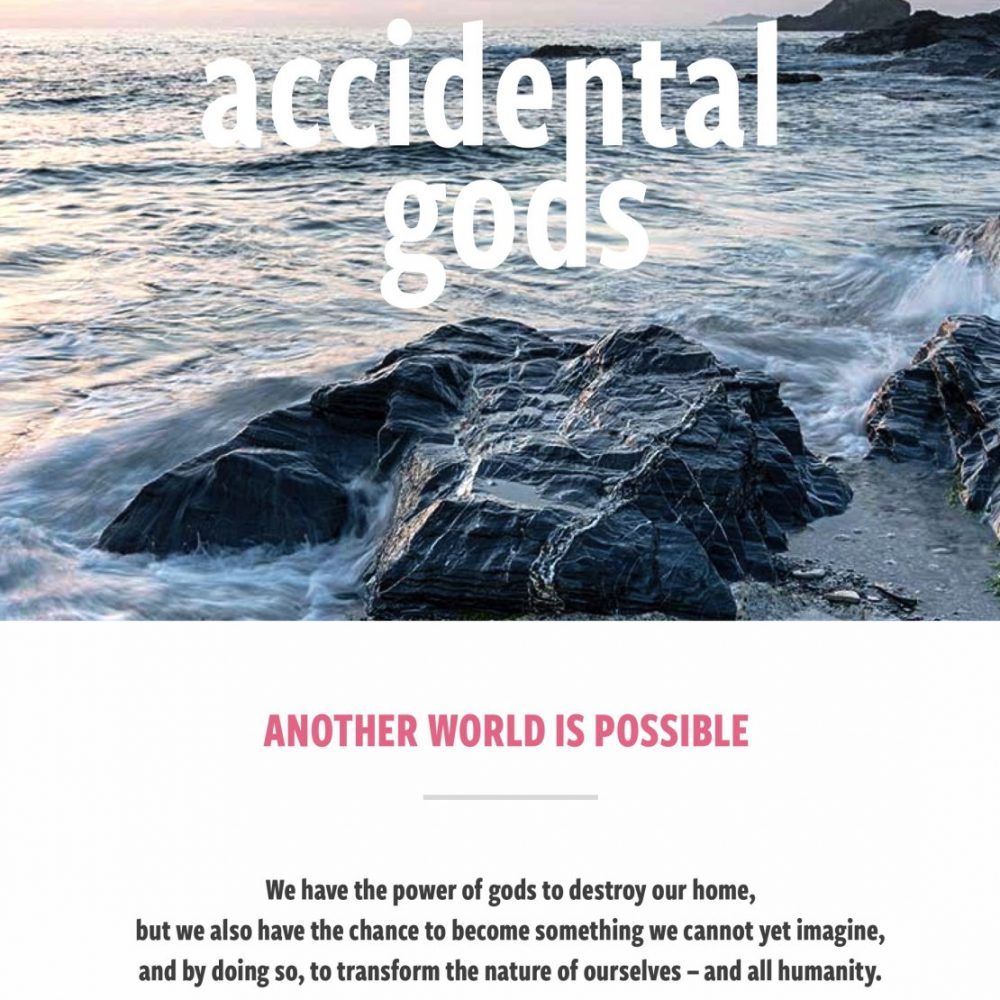 Interviews for the Accidental Gods podcast series